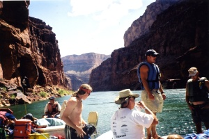 Drifting along on the Colorado River