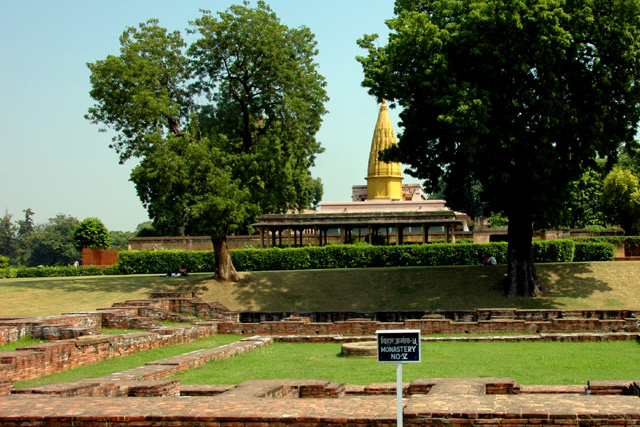 Samath, where Buddha gave his first public speech