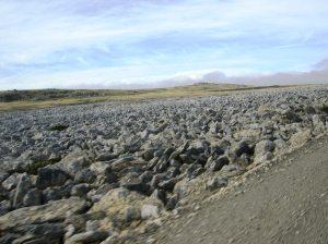Strange but common rock flow, origins unknown