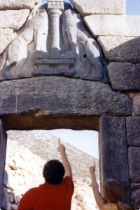 Lion's Gate at Mycenae