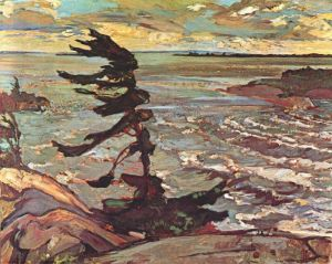 pine on the Canadian Shield Source: Varley's Stormy Weather from arthistoryarchive.com