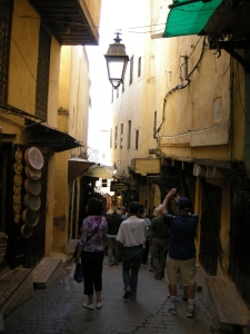 A street in old Fez (the medina)