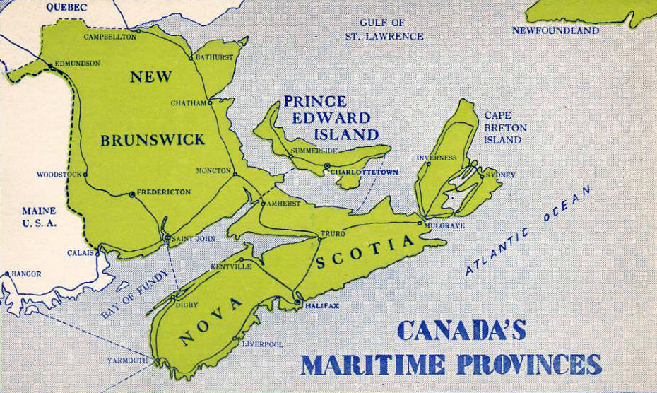 Maritime Canada Map Why you should visit Canada's Maritime provinces | Robby Robin's