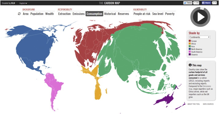 The-Carbon-Map-cartogram-of-CO2-emissions-by-consumption-of-goods-and-services-2012-researchgate